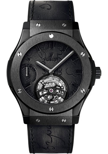 Hublot Watches - Classic Fusion 45mm Tourbillon Power Reserve 5 Days - Style No: 505.CM.0500.VR.BER17