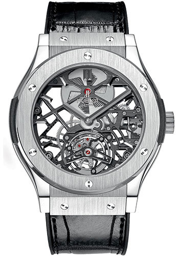 Hublot Watches - Classic Fusion 45mm Skeleton Tourbillon - Style No: 505.NX.0170.LR