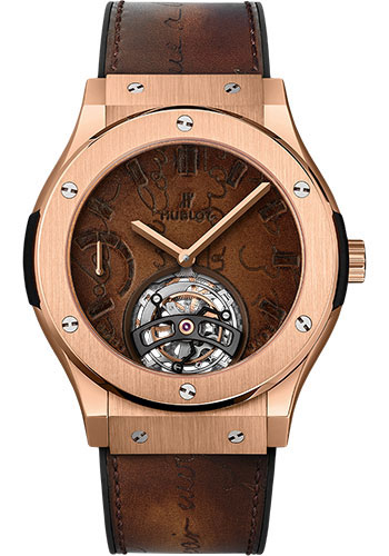 Hublot Watches - Classic Fusion 45mm Tourbillon Power Reserve 5 Days - Style No: 505.OX.0500.VR.BER17