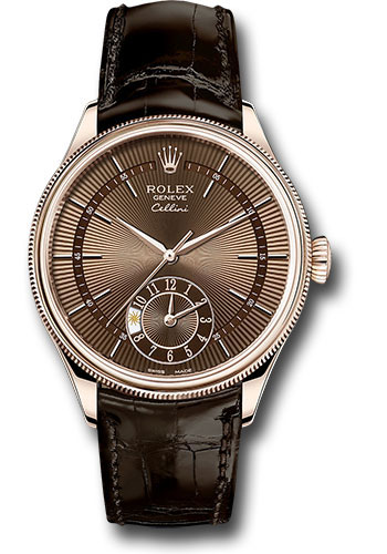 Rolex Watches - Cellini Dual Time - Style No: 50525 brbr