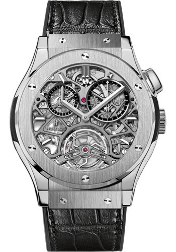 Hublot Watches - Classic Fusion 45mm Skeleton Tourbillon - Style No: 506.NX.0170.LR