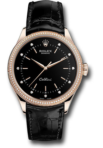 Rolex Watches - Cellini Time - Style No: 50605RBR bkdbk
