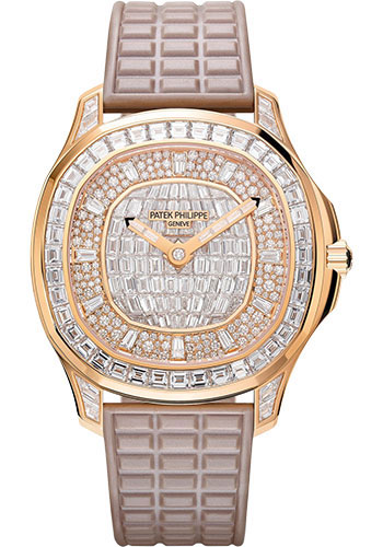 Patek Philippe Watches - Aquanaut Ladies Rose Gold - Style No: 5062/450R-001