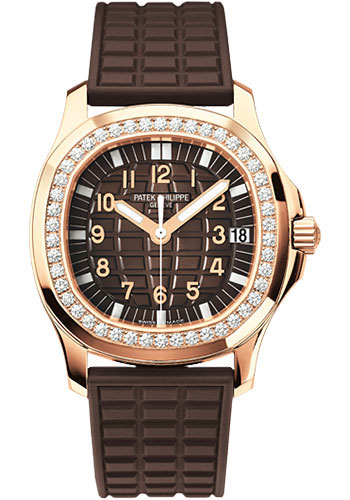 Patek Philippe Watches - Aquanaut Ladies Rose Gold - Style No: 5068R-001