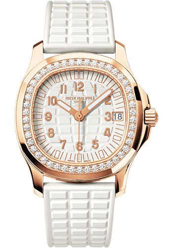 Patek Philippe Watches - Aquanaut Ladies Rose Gold - Style No: 5068R-010
