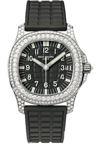 Patek Philippe Watches - Aquanaut Ladies White Gold - Style No: 5069G-001