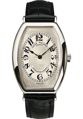 Patek Philippe Watches - Gondolo Mens Platinum - Style No: 5098P-001