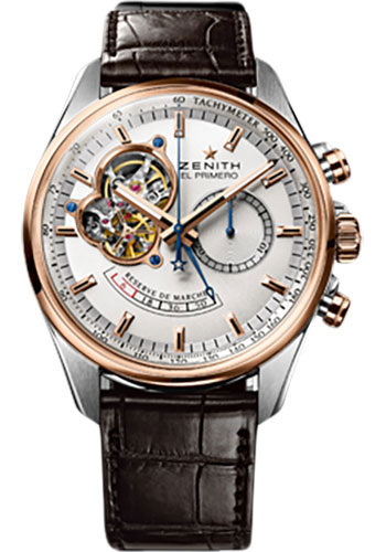 Zenith Watches - El Primero Chronomaster Power Reserve Steel and Rose Gold - Style No: 51.2080.4021/01.C494