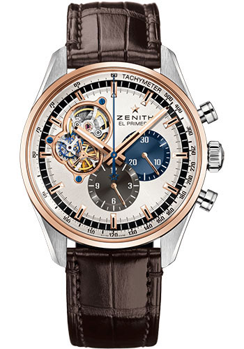 Zenith Watches - Chronomaster El Primero Open Steel and Rose Gold - Style No: 51.2080.4061/69.C494