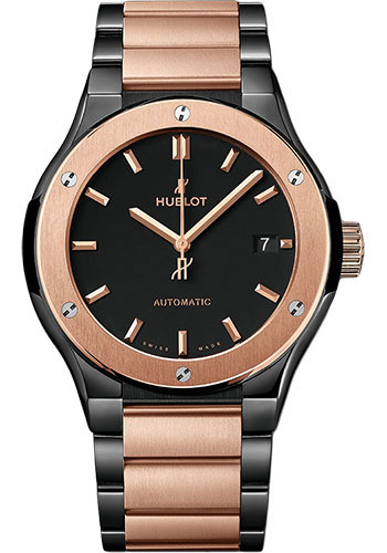 Hublot Watches - Classic Fusion 45mm Ceramic And King Gold - Style No: 510.CO.1180.CO