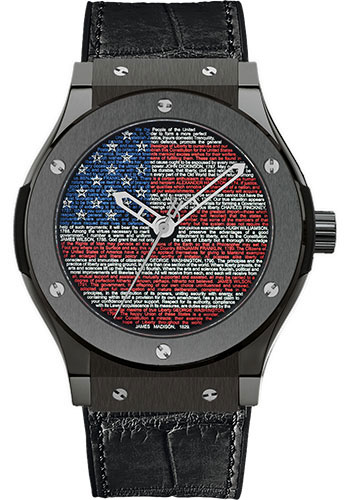 Hublot Watches - Classic Fusion 45mm Liberty Bang - Style No: 511.CM.1190.GR.USA11