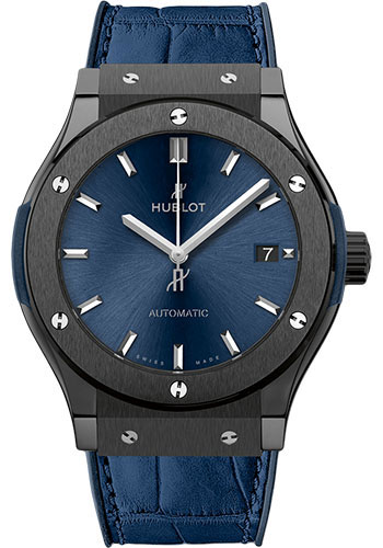 Hublot Watches - Classic Fusion 45mm Ceramic Blue - Style No: 511.CM.7170.LR