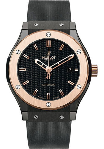 Hublot Watches - Classic Fusion 45mm Ceramic And King Gold - Style No: 511.CO.1780.RX