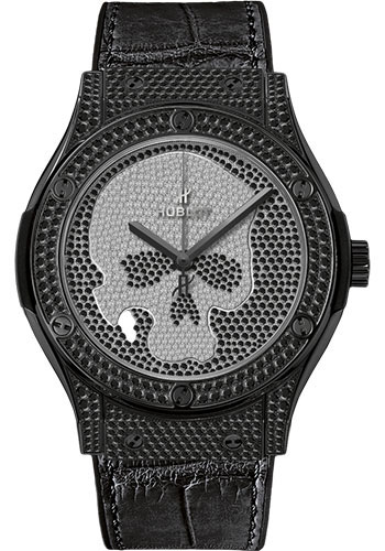 Hublot Watches - Classic Fusion 45mm Skull - Style No: 511.ND.9100.LR.1700.SKULL