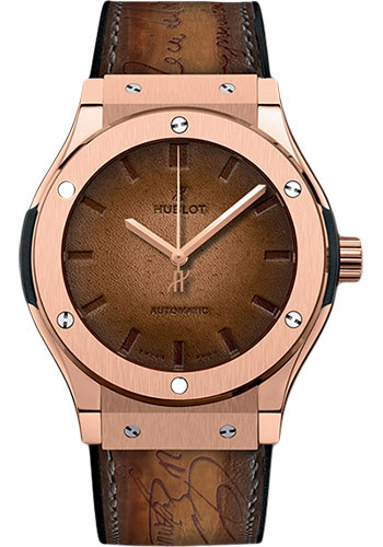 Hublot Watches - Classic Fusion 45mm Berluti - Style No: 511.OX.0500.VR.BER16