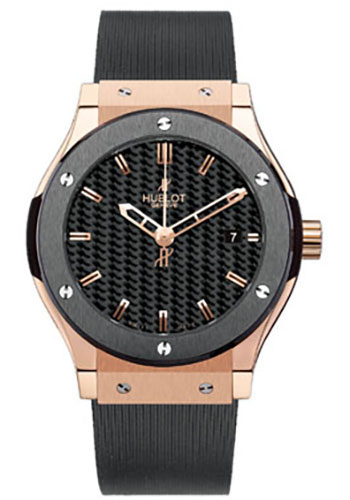 Hublot Watches - Classic Fusion 45mm Red Gold And Ceramic - Style No: 511.PM.1780.RX