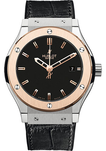 Hublot Watches - Classic Fusion 45mm Zirconium And Red Gold - Style No: 511.ZP.1180.LR