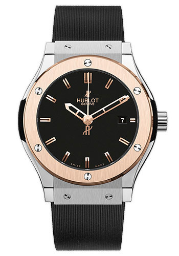 Hublot Watches - Classic Fusion 45mm Zirconium And Red Gold - Style No: 511.ZP.1180.RX