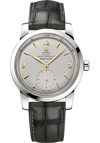 Omega Watches - Seamaster 1948 Co-Axial Master 38 mm - Platinum - Style No: 511.93.38.20.99.001