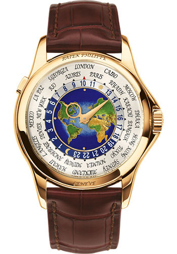 Patek Philippe Watches - Complications World Time - Style No: 5131J-014