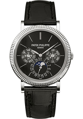Patek Philippe Watches - Grand Complications Perpetual Calendar Moonphase - 38mm - Style No: 5139G-010