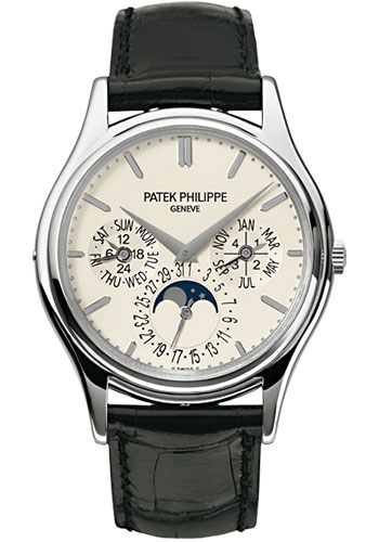 Patek Philippe Watches - Grand Complications Perpetual Calendar Moonphase - 37.2mm - Style No: 5140G-001