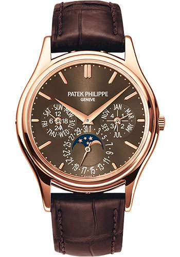 Patek Philippe Watches - Grand Complications Perpetual Calendar Moonphase - 37.2mm - Style No: 5140R-001