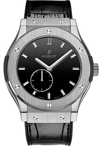 Hublot Watches - Classic Fusion Ultra-Thin Titanium - Style No: 515.NX.1270.LR