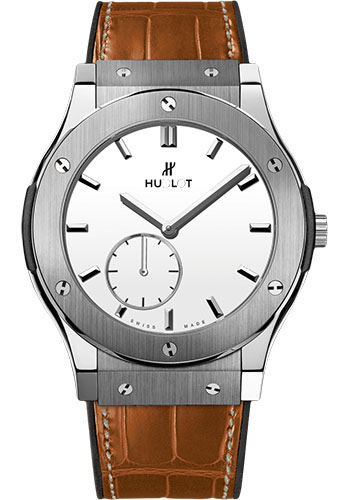 Hublot Watches - Classic Fusion Ultra-Thin Titanium - Style No: 515.NX.2210.LR