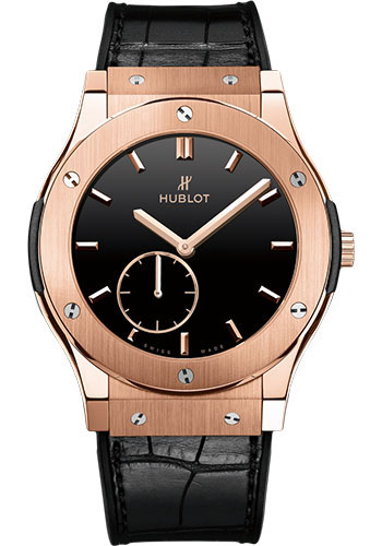 Hublot Watches - Classic Fusion Ultra-Thin King Gold - Style No: 515.OX.1280.LR