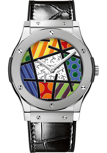 Hublot Watches - Classic Fusion Ultra-Thin Britto Enamel - Style No: 515.TS.0910.LR