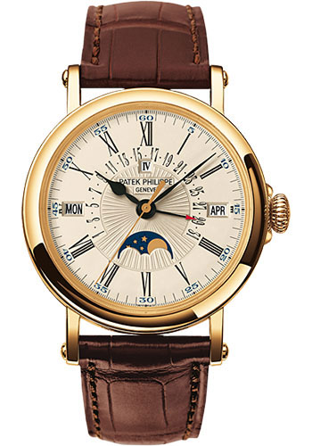 Patek Philippe Watches - Grand Complications Perpetual Calendar Moonphase - 38mm - Style No: 5159J-001