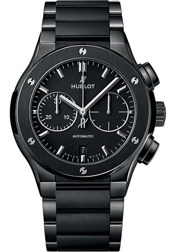 Hublot Watches - Classic Fusion 45mm Chronograph - Black Magic - Style No: 520.CM.1170.CM