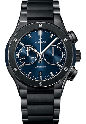 Hublot Watches - Classic Fusion 45mm Chronograph - Ceramic - Style No: 520.CM.7170.CM