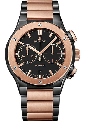 Hublot Watches - Classic Fusion 45mm Chronograph - Ceramic And King Gold - Style No: 520.CO.1180.CO