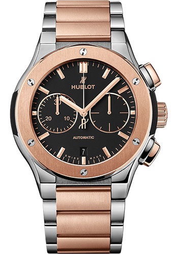 Hublot Watches - Classic Fusion 45mm Chronograph - Titanium And King Gold - Style No: 520.NO.1180.NO