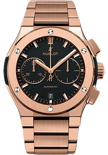 Hublot Watches - Classic Fusion 45mm Chronograph - King Gold - Style No: 520.OX.1180.OX