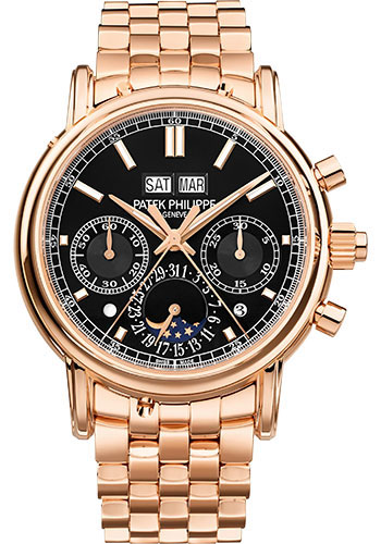 Patek Philippe Watches - Grand Complications Split-Seconds Chronograph Perpetual Calendar - Style No: 5204/1R-001