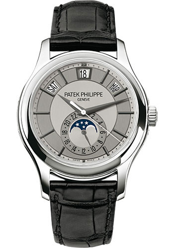 Patek Philippe Watches - Complications Annual Calendar - 40mm - Style No: 5205G-001