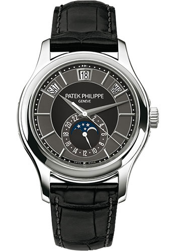 Patek Philippe Watches - Complications Annual Calendar - 40mm - Style No: 5205G-010