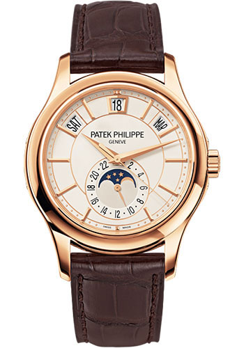 Patek Philippe Watches - Complications Annual Calendar - 40mm - Style No: 5205R-001