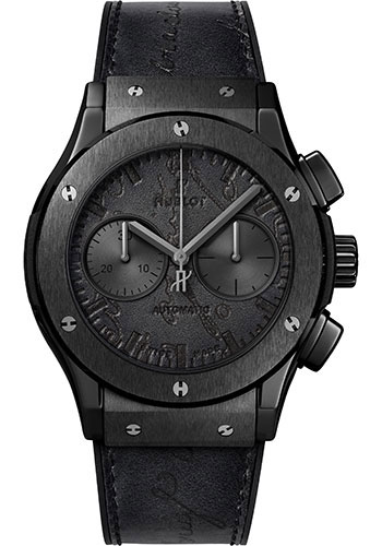 Hublot Watches - Classic Fusion 45mm Chronograph - Berluti Scritto - Style No: 521.CM.0500.VR.BER17