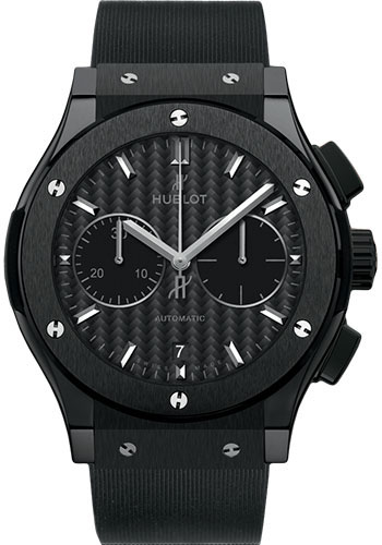 Hublot Watches - Classic Fusion 42mm Chronograph - Black Magic - Style No: 541.CM.1771.RX