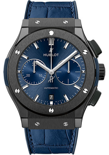 Hublot Watches - Classic Fusion 45mm Ceramic Blue - Style No: 521.CM.7170.LR
