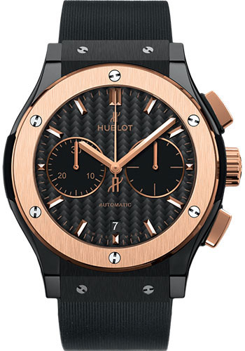 Hublot Watches - Classic Fusion 45mm Chronograph - Ceramic And King Gold - Style No: 521.CO.1781.RX