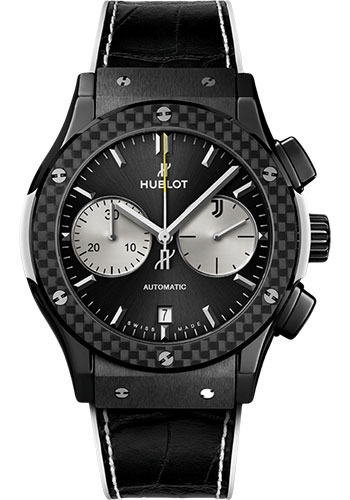 Hublot Watches - Classic Fusion 45mm Chronograph - Juventus - Style No: 521.CQ.1420.LR.JUV18