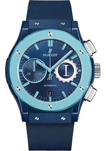 Hublot Watches - Classic Fusion 45mm Chronograph - Garage Italia Sky Earth and Sea - Style No: 521.EX.7170.RX.GIT19