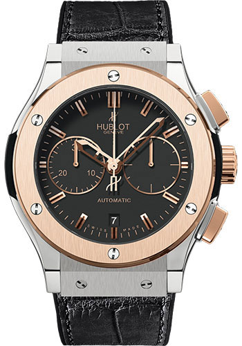 Hublot Watches - Classic Fusion 45mm Chronograph - Titanium And King Gold - Style No: 521.NO.1180.LR