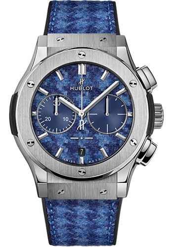 Hublot Watches - Classic Fusion 45mm Chronograph - Italia Independent - Style No: 521.NX.2710.NR.ITI18