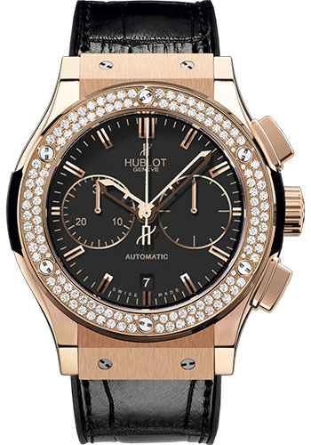 Hublot Watches - Classic Fusion 45mm Chronograph King Gold - Style No: 521.OX.1180.LR.1104